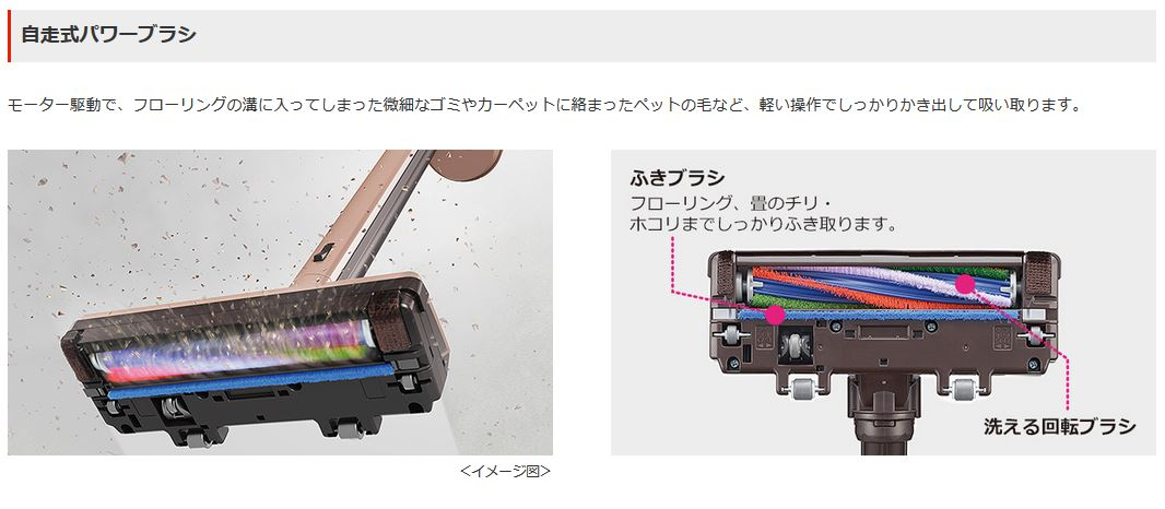 三菱電機 掃除機 コードレス スティッククリーナー HC-VXG30P-N